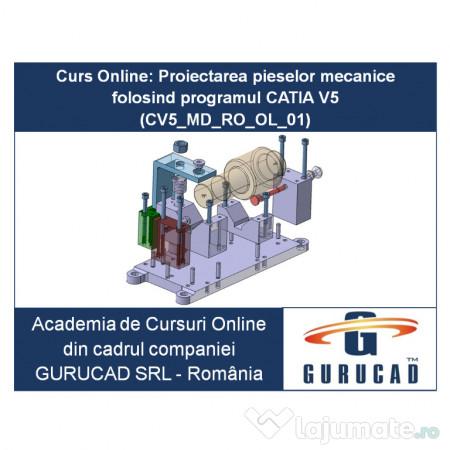 Curs online: Proiectarea pieselor mecanice CATIA V5