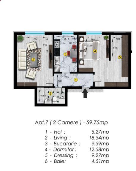Apartament spatios cu mutare imediata – Piata Rahova sect. 5